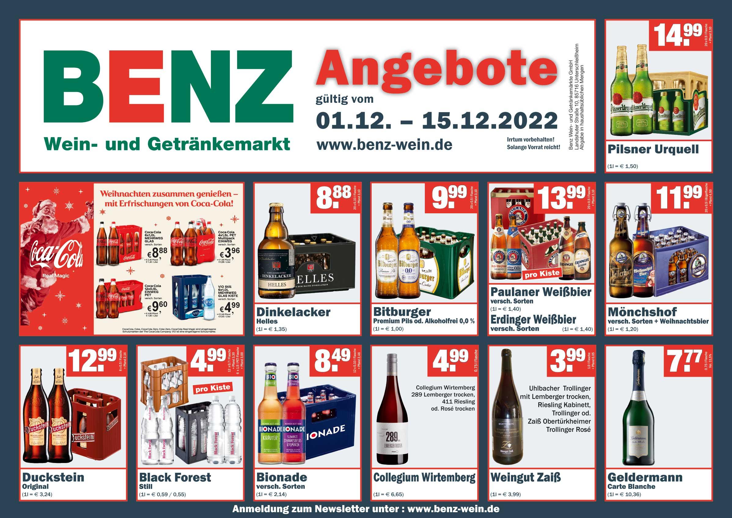 Benz Getränkemärkte